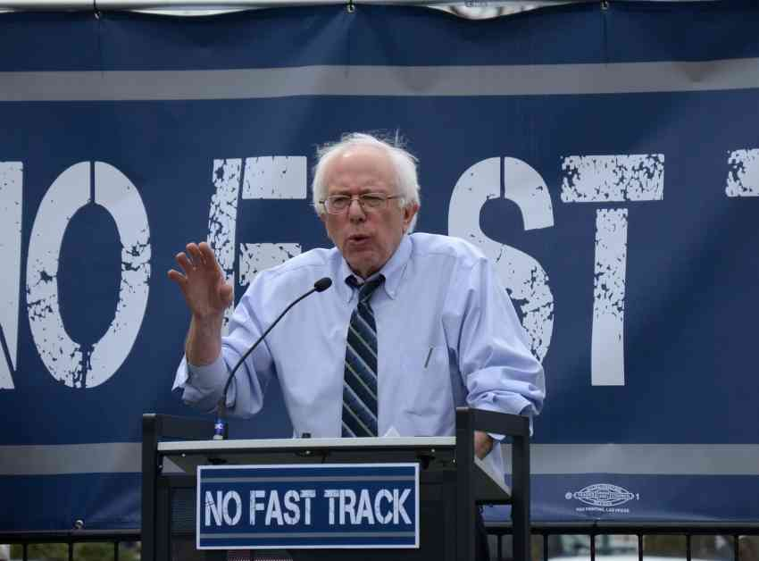 Sanders forces push trade opposition at DNC platform meeting