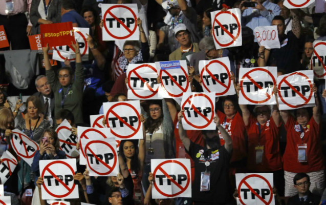 NEW: Order 'No TPP' Signs for your Next Action