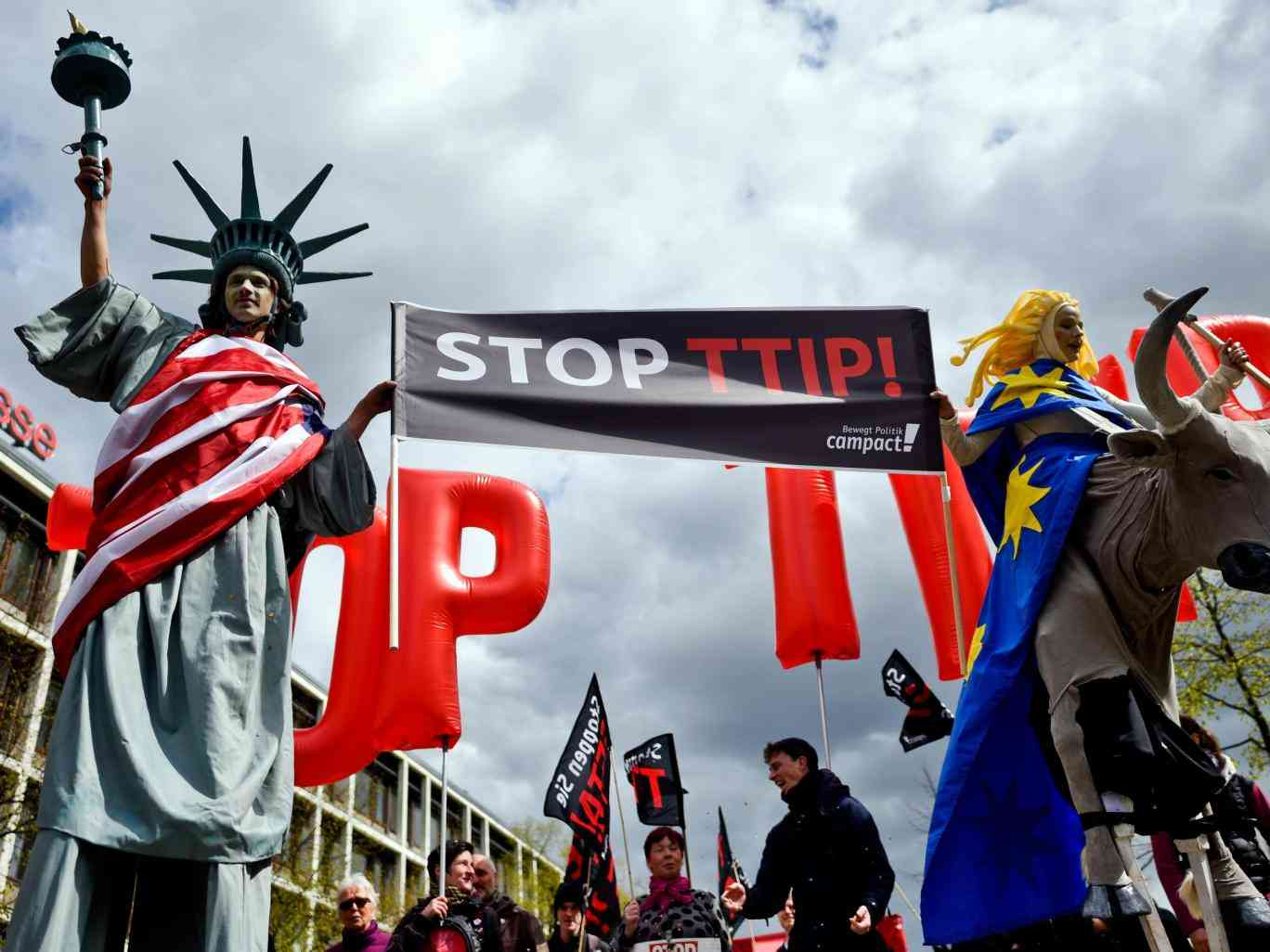 TTIP has failed – but no one is admitting it, says German Vice-Chancellor
