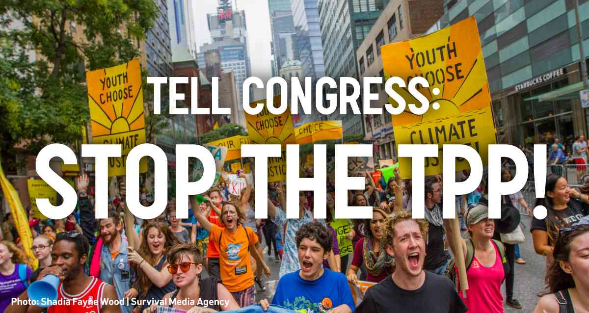 Will our representatives in Washington betray us on TPP?