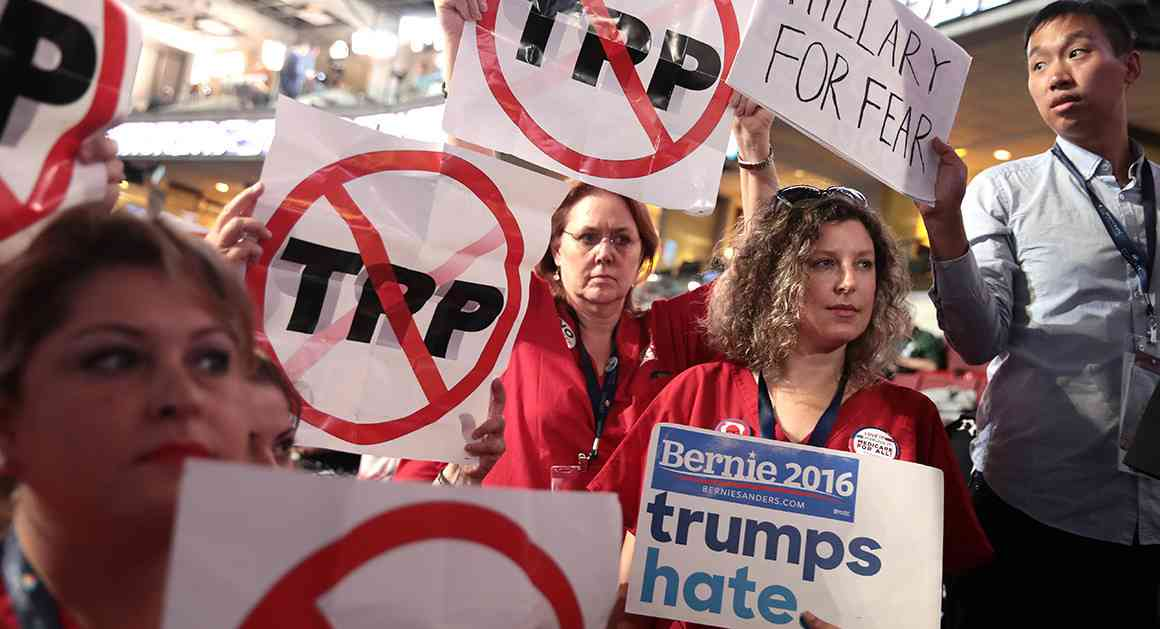 Michigan Democrats pass anti-TPP resolution