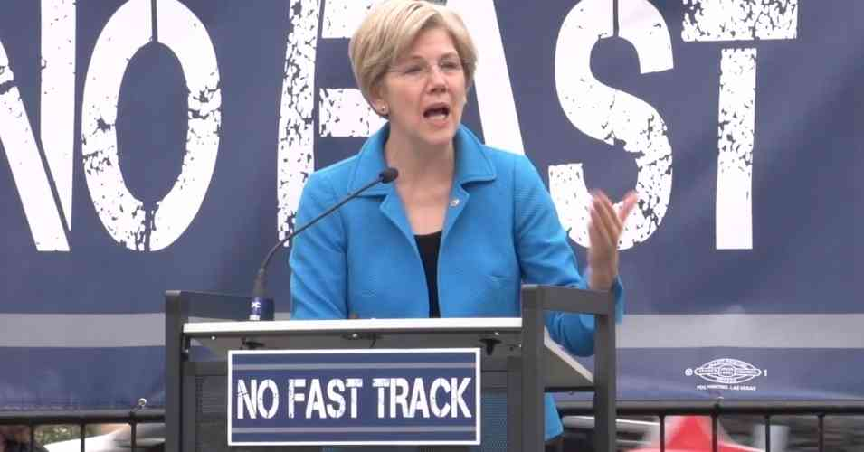 White House Escalating Toward TPP Lame-Duck Vote, Sen. Warren and Hundreds of Academics Urge Rejection