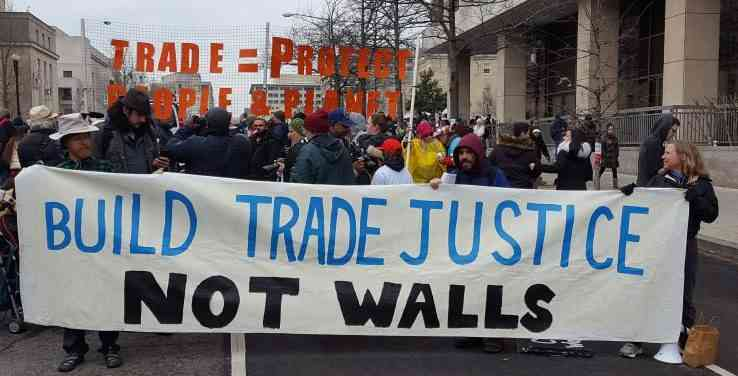 Act Now to Demand Trade Justice